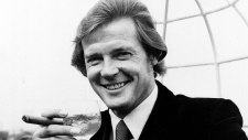 Roger Moore at the Dorchester Hotel in 1972