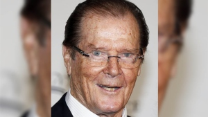 British actor Roger Moore, who will forever be remembered for playing James Bond, died Tuesday aged 89, his family announced in a statement on Twitter. (VALERY HACHE / AFP)