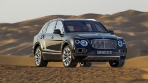 Bentley Bentayga Falconry by Mulliner (Courtesy of Bentley)