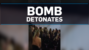 GRAPHIC WARNING: Bomb detonates at U.K. concert