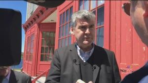 CTV Atlantic: N.S. party leaders campaign in Halif