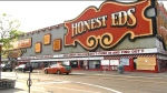 Honest Ed's sign