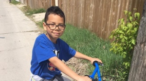 The father of 9-year-old Kyree Bruneau-Thomas said his son slipped on a rock and drowned over the weekend.