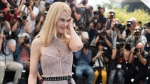 Actress Nicole Kidman poses for photographers during the photo call for the film The Beguiled at the 70th international film festival, Cannes, southern France, Wednesday, May 24, 2017. (Photo by Arthur Mola/Invision/AP)