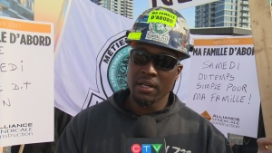 A striking construction worker explains why he and his colleagues have walked off the job (May 24, 2017)
