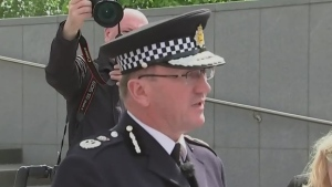 Manchester Police Chief Constable Ian Hopkins