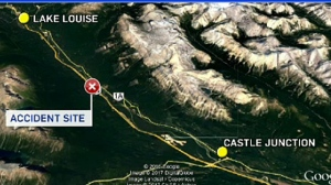 Body of kayaker found near Lake Louise