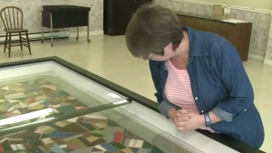 CTV News at 5: Confederation quilt