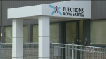 The advance polls in Nova Scotia are open and peop