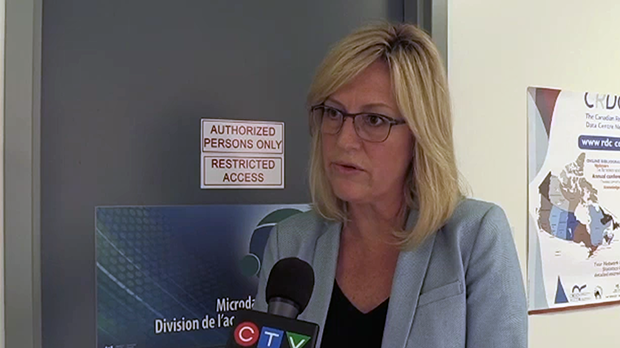 Nancy Guarino said the centre means researchers no longer need to travel to Southern Ontario.
