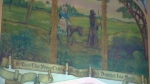 St. Jude's Anglican Church in Brantford was designated as a natural historic site because of murals like this one.