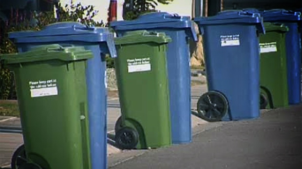 The City of Winnipeg doesn't cover the cost of lost or stolen bins, only damaged ones.