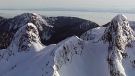 St. Mark's Summit is seen from CTV Vancouver's Chopper 9.