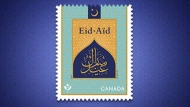 Canada Post has unveiled two new stamps on Tuesday celebrating the most sacred of Muslim holidays – Eid al-Fitr and Eid al-Adha – ahead of Ramadan. (Canada Post)