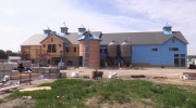 Cowbell Brewery in Blyth under construction on May 24, 2017. (CTV London)