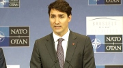 LIVE1: PM Trudeau speaks at NATO Summit