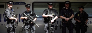 Armed British Transport Police Specialists