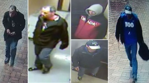 Ottawa Police are looking for suspects in a series of vending machine break-ins.