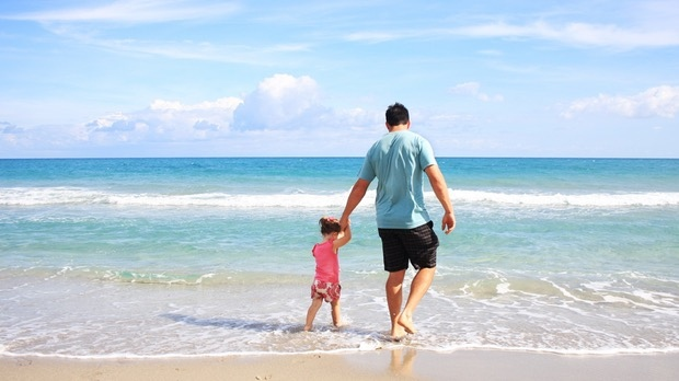 Researchers found that dads with little girls spent about 60 per cent more time responding to their child, they sang more with girls and spoke more openly about emotions. (Pexels)