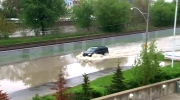 Flooding on Bayview Avenue