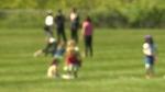 kids playground blurry generic