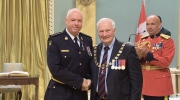 Nottawasaga OPP detachment commander Insp. Steve Clegg was awarded the Governor General's Award of Merit. (CTV Barrie)