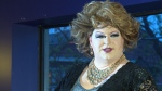 A drag queen performs at the tri-Pride Pageant in Waterloo on May 25, 2017. (CTV Kitchener)