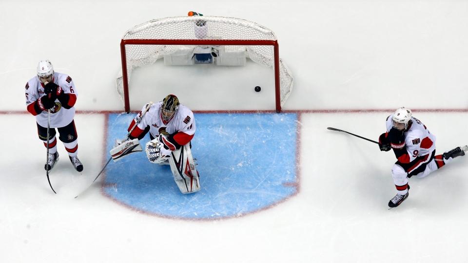 Ottawa Seantors Pittsburgh Penguins