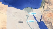 Gunmen open fire on bus in Egypt