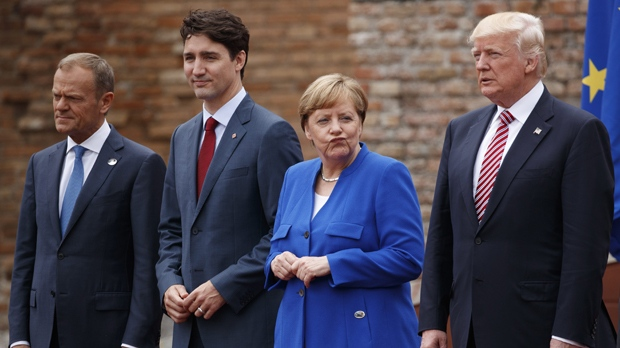 Trudeau at G7 summit