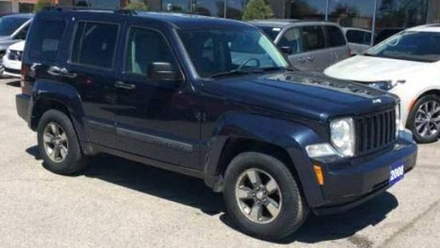 Marcel Berthiaume was believed to be driving his blue 2008 Jeep Liberty. (New Brunswick RCMP)