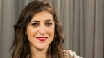 Actress and author Mayim Bialik poses for a photo in Los Angeles on May. 23, 2017. (Damian Dovarganes/AP)