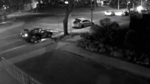 Toronto police have release security video of a shooting that took place on April 13 in Flemingdon Park. (Toronto police)