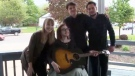 Port Cities performed a special show for Becca Schofield, a New Brunswick teen who inspired an international kindness campaign, in Riverview on Wednesday.
