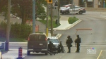 Key witness at Ball trial arrested after standoff