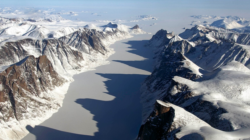 Nunavut's landscape is pictured in this file photo.