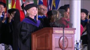 Extended: Hillary Clinton's speech to graduates