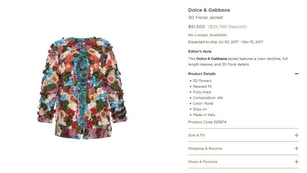 bcab54997a Melania Trump wears US 51K Dolce   Gabbana jacket in Sicily ...