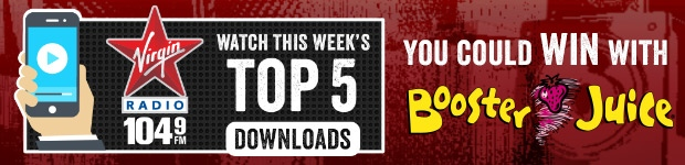 Booster Juice - 104.9 Virgin Radio - Top 5 Contest
