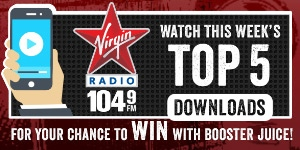Booster Juice - Virgin Radio - Top 5 Contest