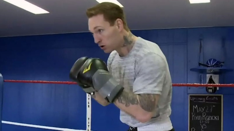 Cape Breton boxer Ryan Rozicki has channeled his childhood fights into a career.
