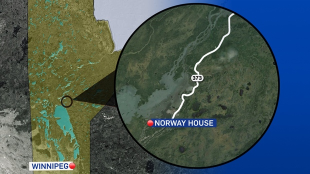 Mansalughter Charge Laid In Death Of Norway House Man CTV News - Norway house map