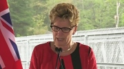 CTV Barrie: Wynne in Muskoka