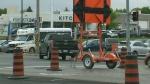 Roadwork at Homer Watson and Ottawa hits new phase