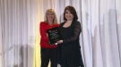 Mutsumi Takahashi receives an RTDNA lifetime achievement award.