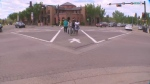 St. Alberta tests scrambled sidewalks