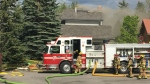 Oakridge house fire - Oakmount Way SW