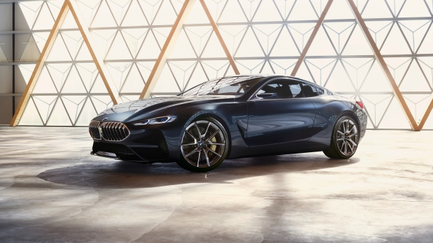 The BMW Concept 8 Series is seen in this provided image. © BMW