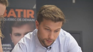 While Quebec Solidaire's Gabriel Nadeau-Dubois has been considered a favourite in the upcoming Gouin by-election, Liberal Jonathan Marleau and the CAQ's Benjamin Belair both believe they're the best option for the riding's residents.