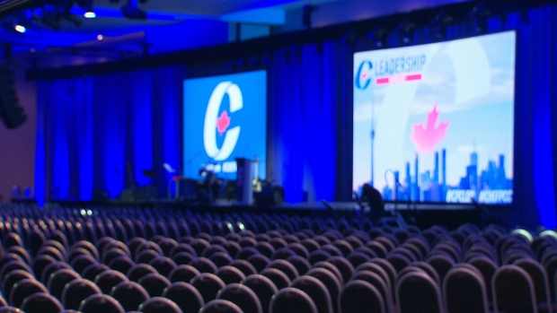 Conservative Party Convention set up